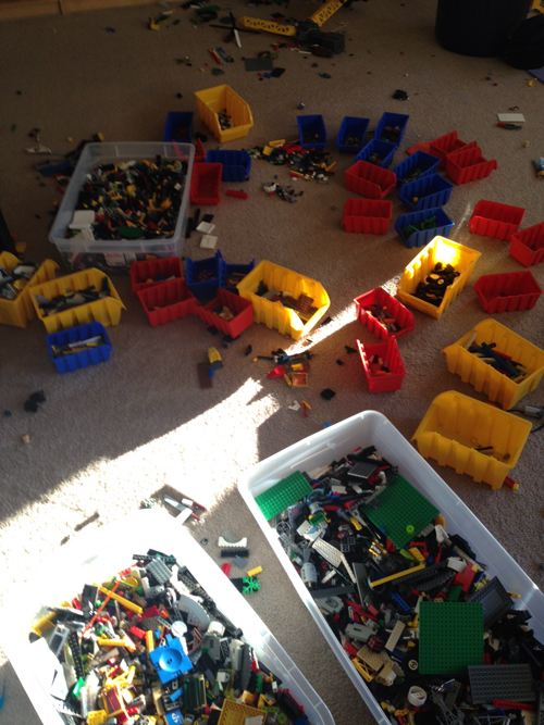 Why I Don't Clean, Reason # 3,492: Legos – Real Estate Tangent