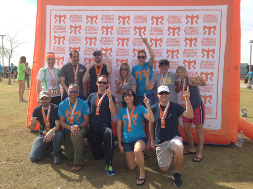 "I posted this picture on Facebook and one of my friends emailed me, ""Did you really win Ragnar??"" and I was like, ""No... noo, no. That was an ironic 'we're #1!' we were doing there... get it?"" and then I got really worried people actually thought we won Ragnar but I didn't want to comment, 'GUYS. WE TOTALLY DIDN'T WIN.' because that seemed kind of rude to my teammates."