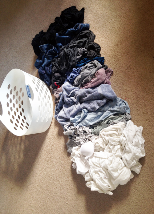 laundry ombre